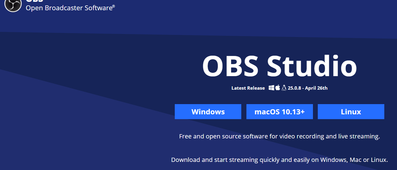 OBS(Open Broadcaster Software)